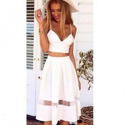 FASHION CUTE WHITE DRESS on Luulla