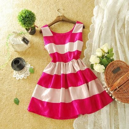 COLORFUL GRAIN ELEGANT SHINING DRES..