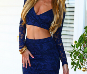 CUTE TWO PIECE LACE ..