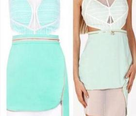 CUTE MINT GREEN FASH..