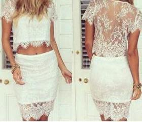FASHION LACE TWO PIE..