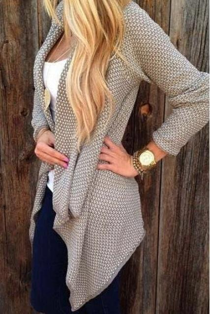 CUTE LOOSE HOT CARDIGANS