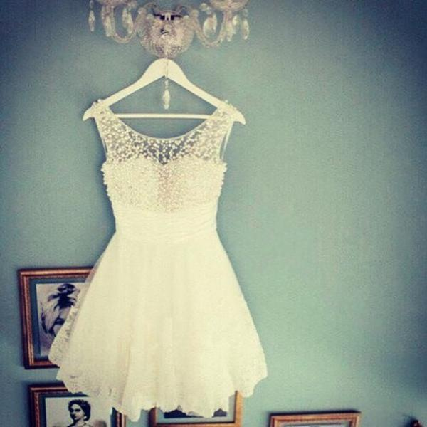 HOT FULL RHINESTONE LACE DRESS